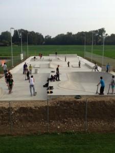 Skatepark à Colombier