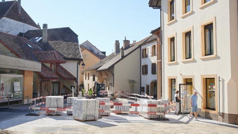 A propos des problèmes du chantier de la rénovation du centre du village