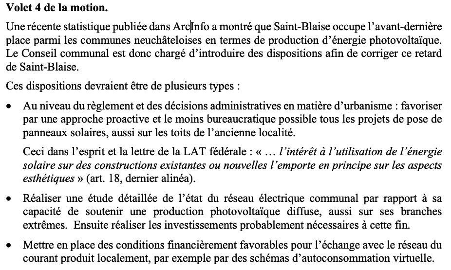 Photovoltaïque à Saint-Blaise